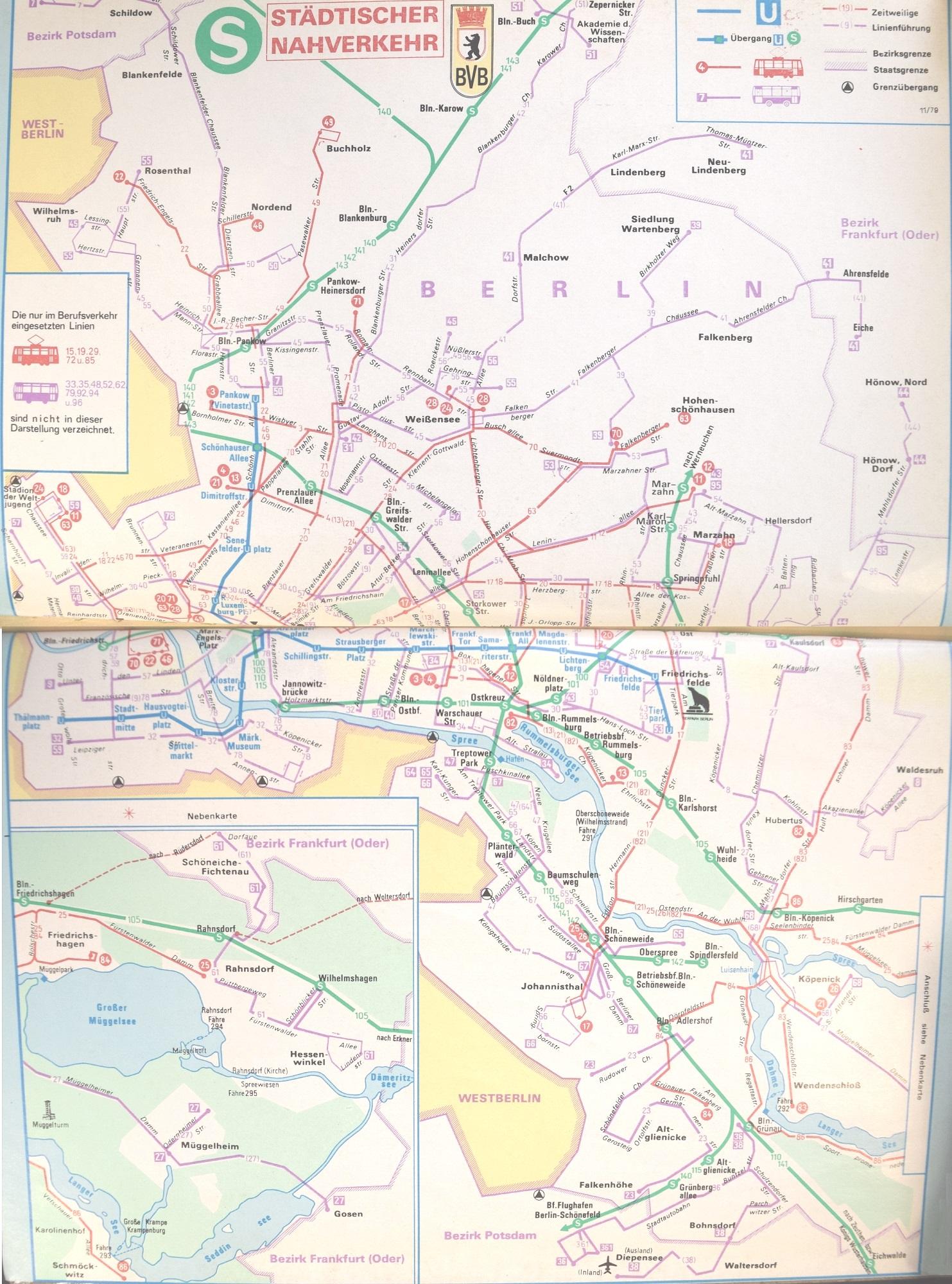 Berliner Linienchronik