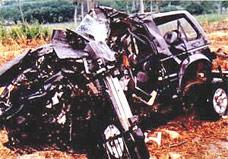 Falcos Unfall
