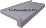 Alu Fensterbank E6 EV1 silberfarben eloxiert
