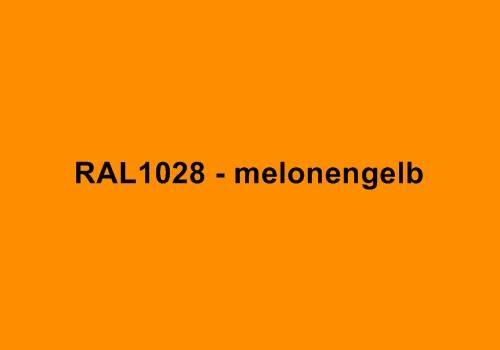 Alu Fensterbank in Ral 1028 melonengelb