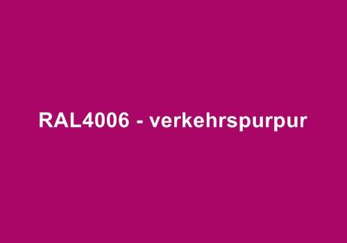 Alu Fensterbank RAL 4006 verkehrspurpur