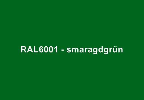 Alu Fensterbank in Ral 6001 smaragdgrün