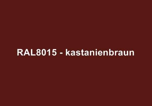 Alu Fensterbank in Ral 8015 kastanienbraun