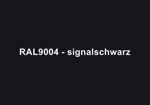 Alu Fensterbank in Ral 9004 signalschwarz