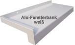 Alu Fensterbank in Ral 9016 weiß