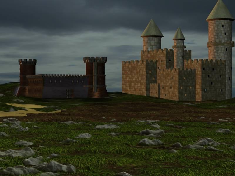 Mittelalterliche Burgen
