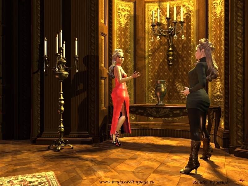 Damentreff im Salon
