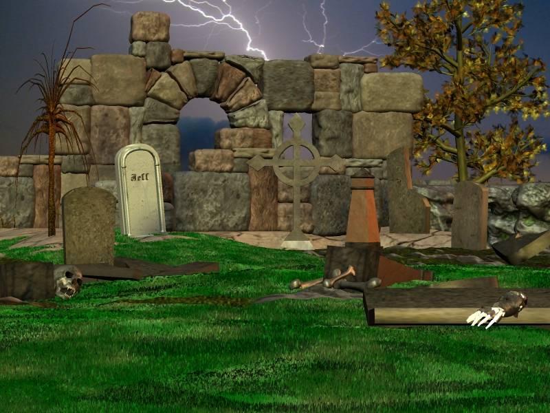 Ruinenfriedhof