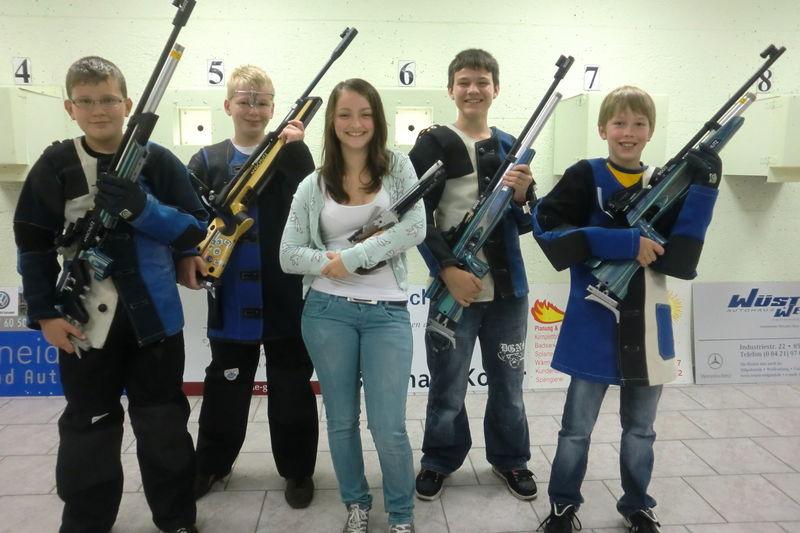 Schülermannschaft 2011