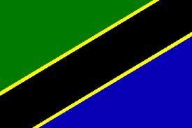 afrika fahne rot mit gelben stern
