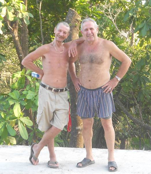 Don Mateo mit Don Steve aus Kanada