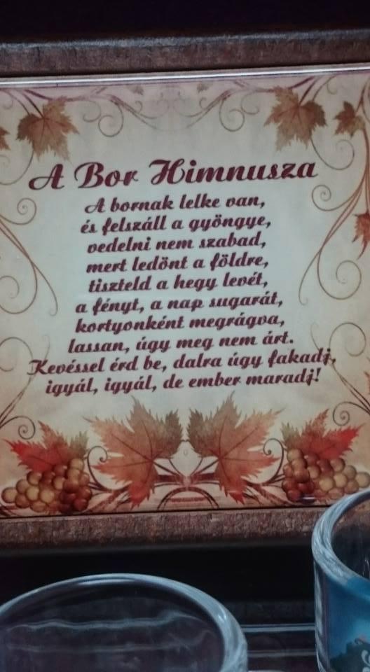 A Bor himnusza .