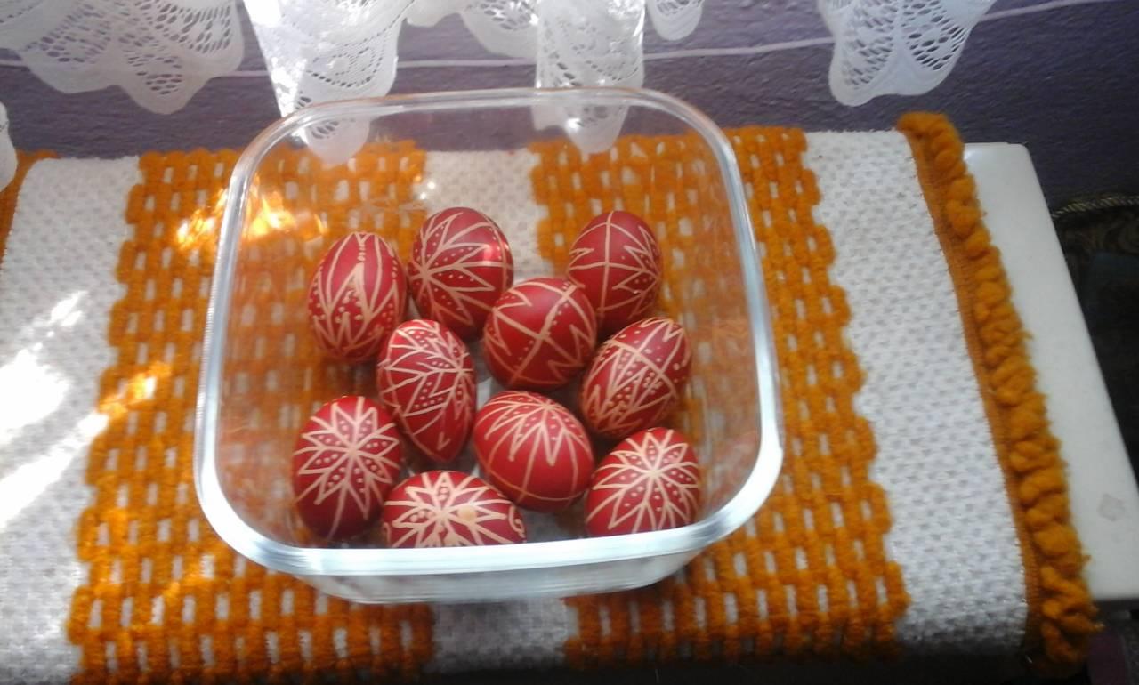 Irottas tojások.