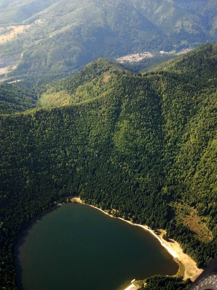 Szent Anna tó és Tusnád .