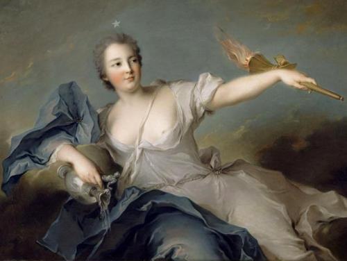 Marie-Anne de Mailly-Neslé (1740, Jean-Marc Nattier)
