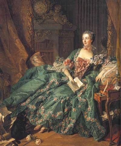 Mme de Pompadour (1757, François Boucher)