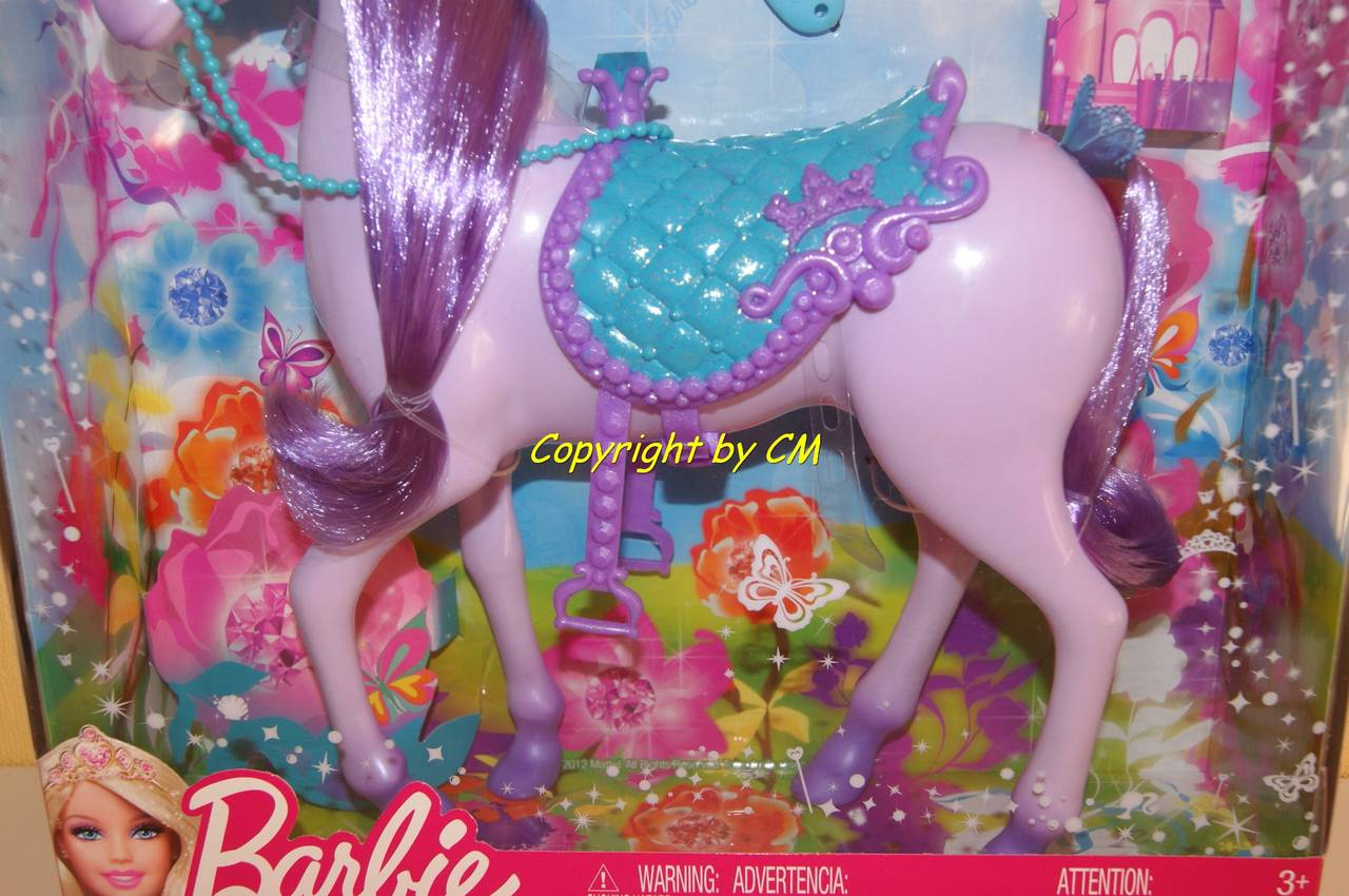 barbie einhorn lila