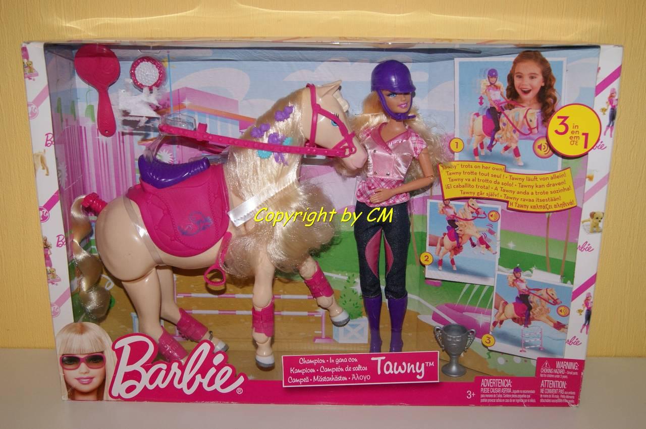 mattel barbie bjx85 f tter und schmusespa tawny puppe mit pferd underground. Black Bedroom Furniture Sets. Home Design Ideas