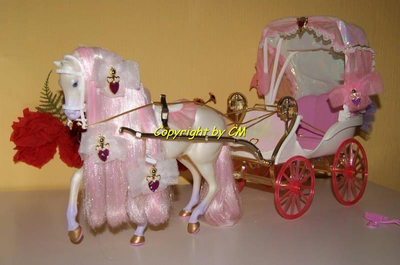 barbie pferdekutsche