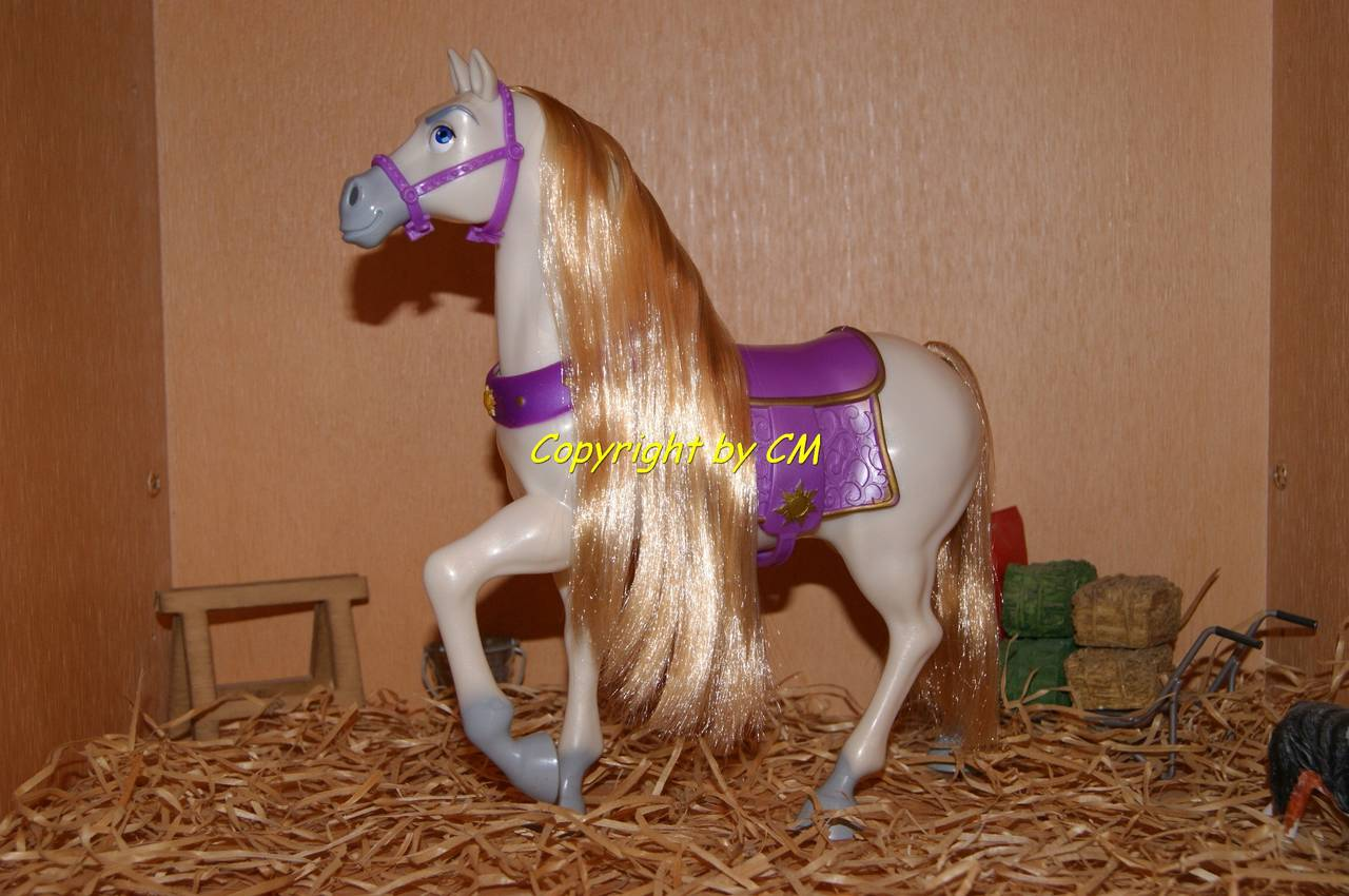 rapunzel pferd maximus mattel