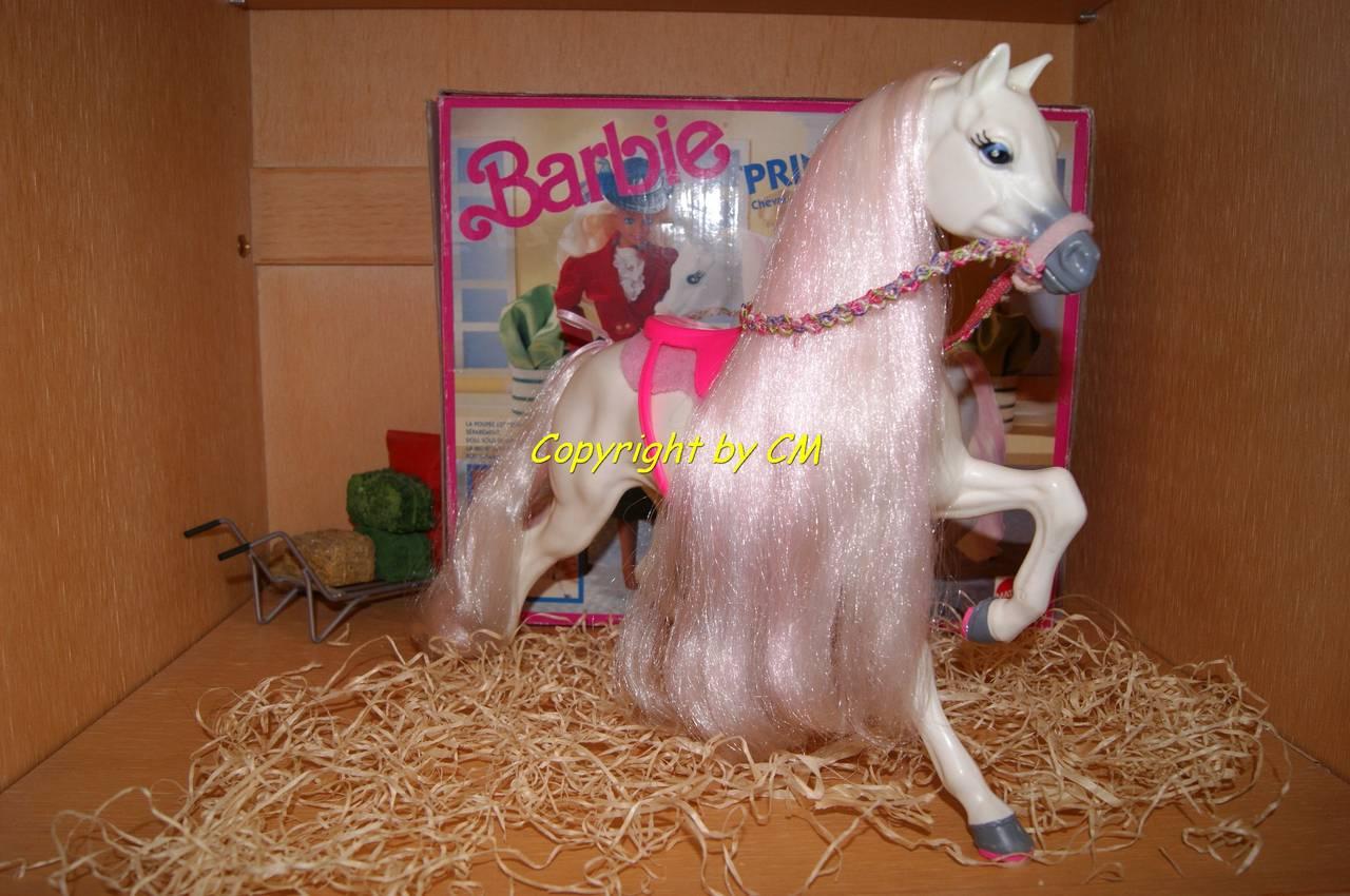 prinz rosa pferd