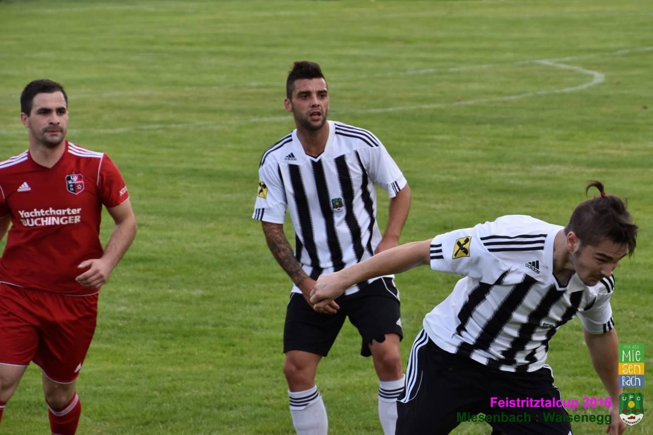 Feistritztalcup 2016: Miesenbach gegen Waisenegg  2:2