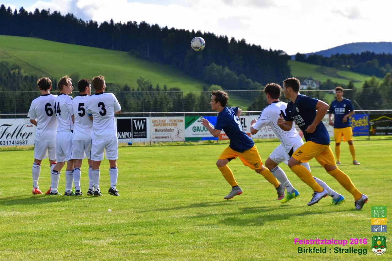 Feistritztalcup 2016: Birkfeld gegen Strallegg  1:2