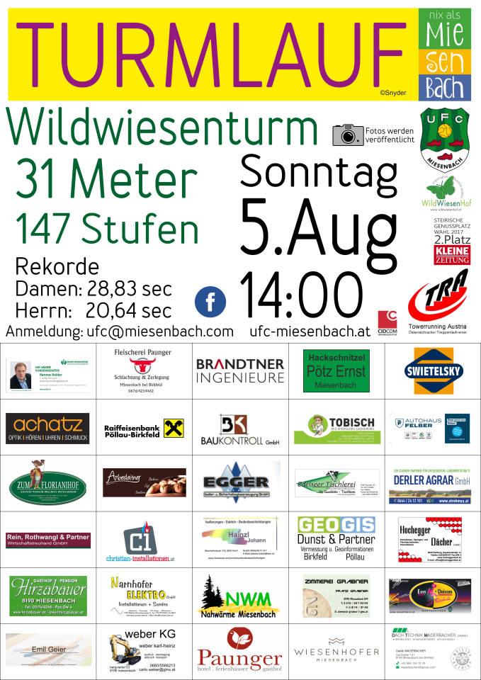 UFC Miesenbach Wildwiesenturmlauf 2018