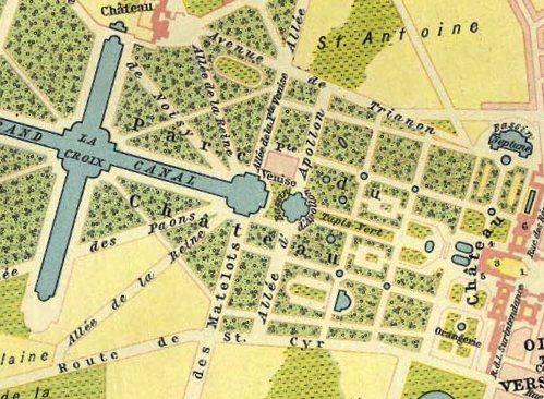 Versailler Schlosspark 1789