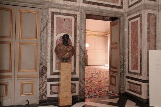 Eingang zum Salle des Gardes du Roi -- © 2010 by J.S.