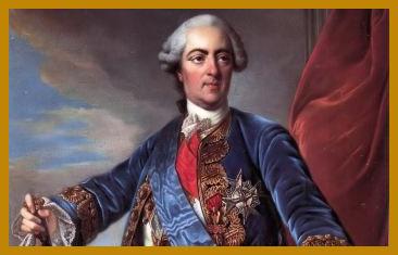 Versailles zu Zeiten Louis´ XV.