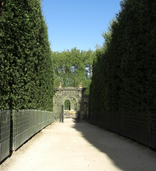 Eingang zum Bosquet -- © 2009 by Janine Schreiber