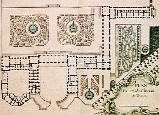 Bosquet des Sources, Grand Trianon, um 1747
