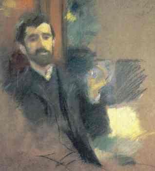 Paul-César Helleu, 1885-89 (John Singer Sargent)