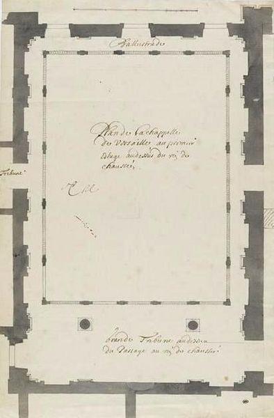 Plan von 1678 (Charles LeBrun)