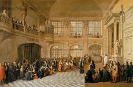 1695, von Antoine Pezey
