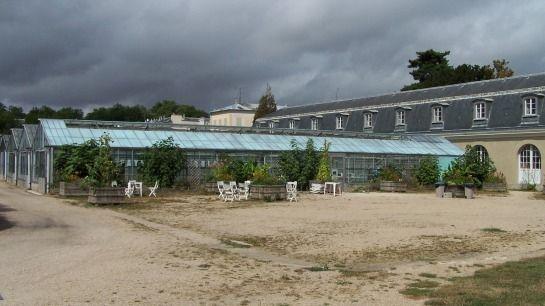 La Melonnière, die Gewächshäuser des historischen Melonengartens -- © 2009 by Janine Schreiber