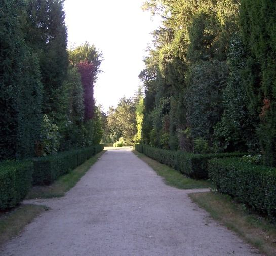 Eingang zum Bosquet de la Reine -- August 2009