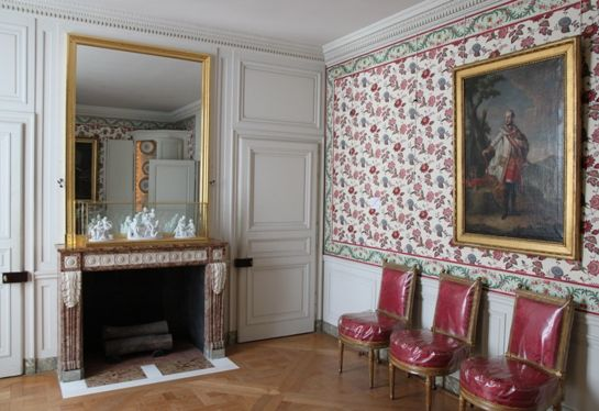This is versailles dining room for La salle a manger francis jammes
