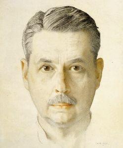 Konstantin Somov (1921, Selbstbildnis)