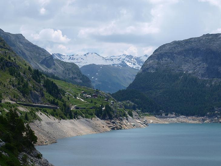 Motorradreisen - Lac du chevril ...