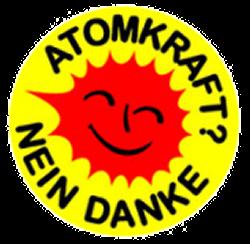 Aufkleber Atomkraft - Nein Danke!