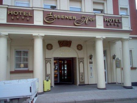 Eingang Hotel Essener Hof