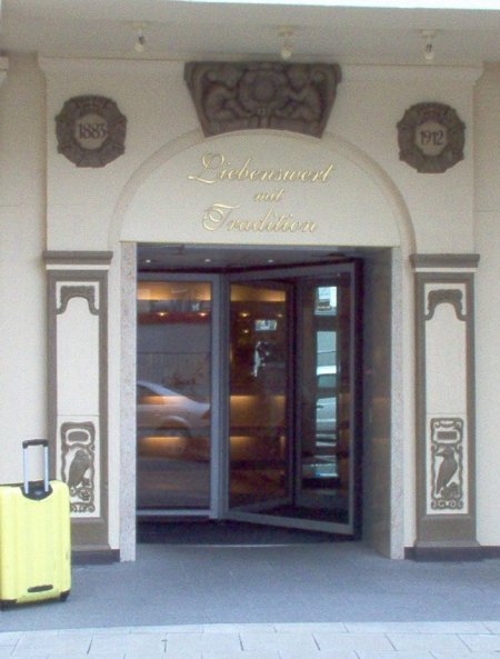 Eingangsbereich Hotel Essener Hof