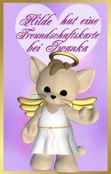 Freundschaftskarte von Iwanka