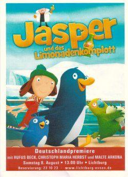 Werbeflyer Jasper