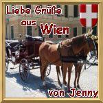 Gruß von Jenny aus Wien