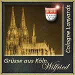 Wilfrieds Grüße aus Köln