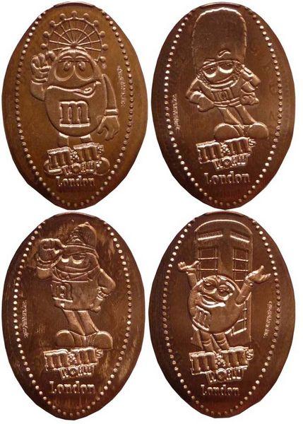 elongated coin - Souve...