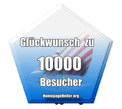 Grafik 10000 Besucher